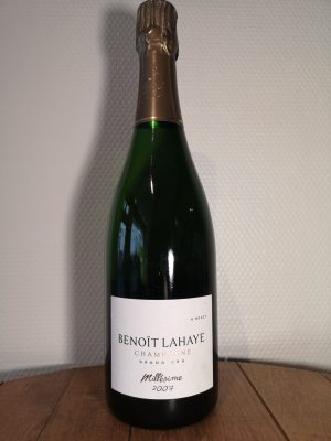 Champagne, Millésime 2007, Benoît Lahaye
